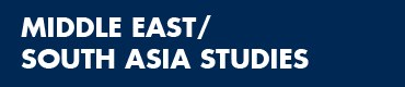 Middle East South Asia Studies