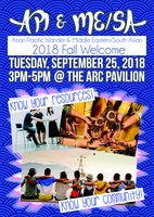 Asian Pacific Islander & Middle Eastern/South Asian 2018 Fall Welcome