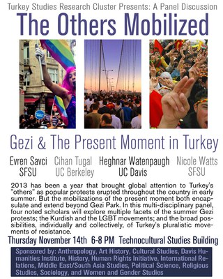 Turkey Discussion Panel Flyer
